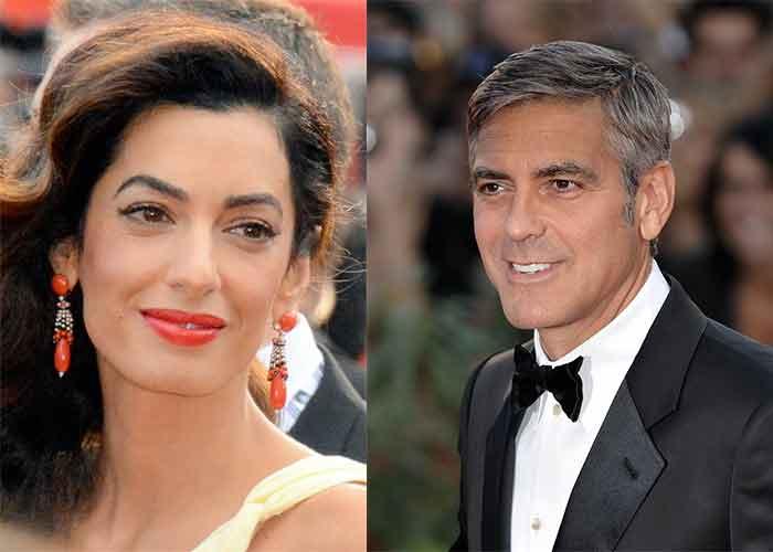 Amal et Goerge Clooney