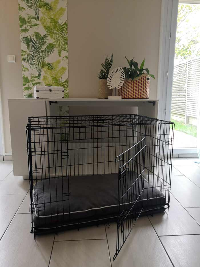 Niche Fido Kook avec cage
