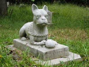 La sépulture du chien